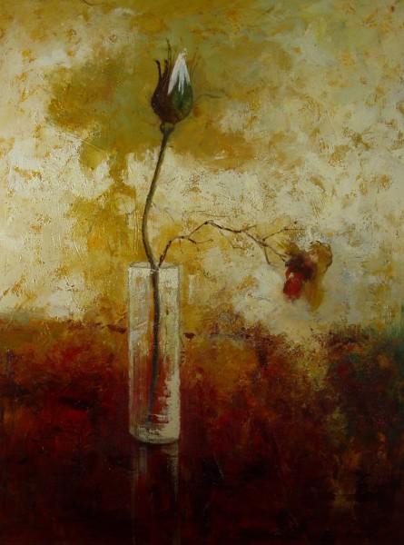 Blüte in einer Vase