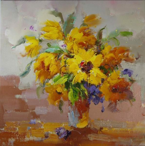 Blumen in Vase