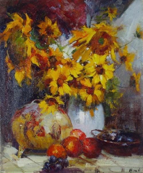 Still Life with Sunflower