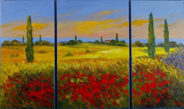Tuscany Triptych